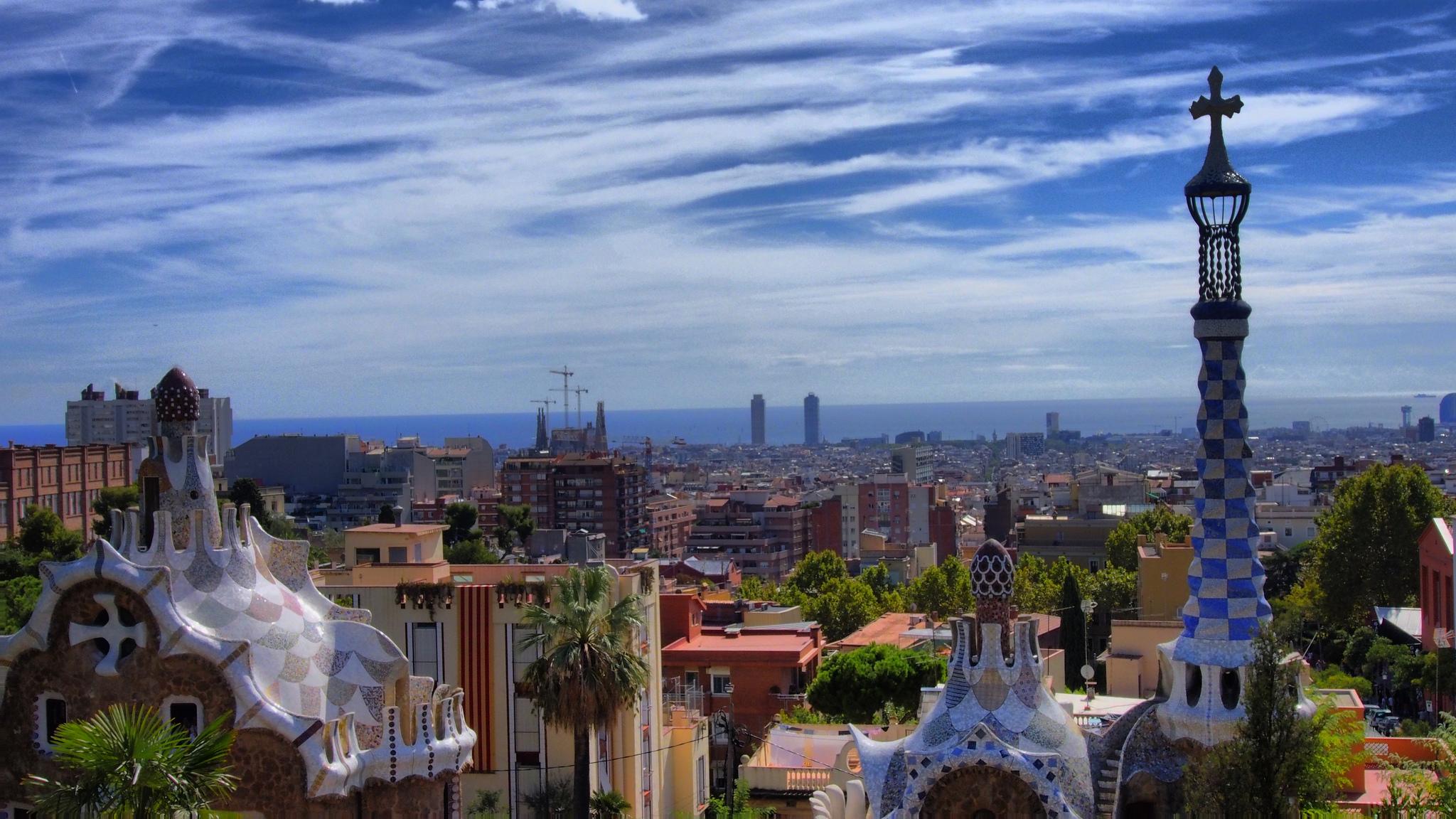 Barcelona Parque Guell Instagram