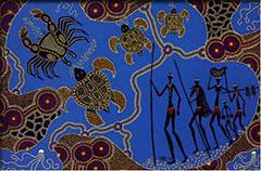 Arte de inspiración aborigen