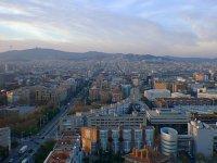 Vista desde la Torre Mapfre. Barcelona. España