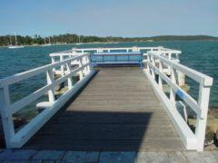 El paseo marítimo de Bateman's Bay
