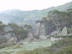 Formaciones rocosas en el Dead Horse Gap