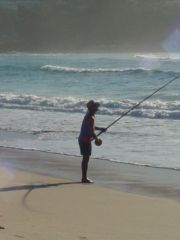 Pescador en Merímbula