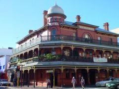 Edificio colonial en Perth
