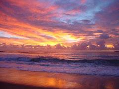 Amanecer maravilloso en Coffs Harbour