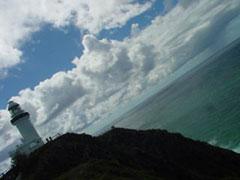 El faro de Byron Bay