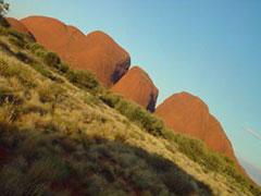 Los Olgas, cúpulas de roca