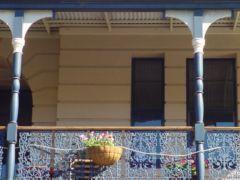 Balcón en Fremantle