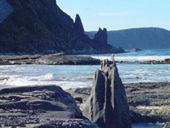 Rocas y acantilados, un paisaje espectacular
