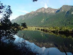 Reflejos en el lago Mirror