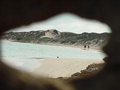 Las dunas de Coral Bay