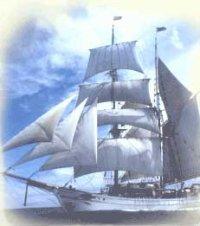 El Søren Larsen, velero en el que realizaré el trayecto Curaçao-Panamá