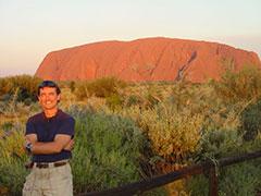Puesta de sol en Uluru