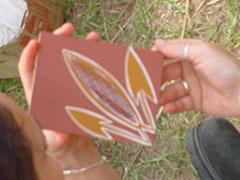 Aprendiendo a pintar al estilo aborigen