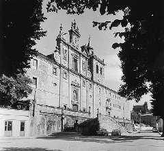 El colegio de los Jesuitas en Villafranca hacia 1930