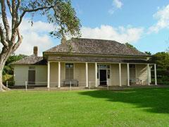 La casa donde se firmó el tratado de Waitangi