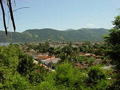 Panorámica de Paraty desde el Morro do Forte.