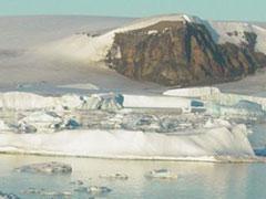 Bloqueados por el hielo en Antarctic Sound
