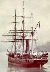 El barco de Scott, el Terranova