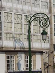 Arquitectura tradicional gallega plasmada en las Galerías