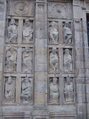Detalle de la Puerta Santa