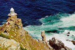 El faro de Cape Point en el Cabo de Buena Esperanza