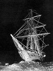 El Endurance de Shackleton, en una foto dramática