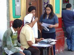 Oficios callejeros: mecanógrafo