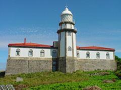 El faro de la isla de Ons, Galicia