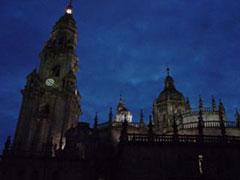 Vale la pena caminar a Santiago para tener esta vista desde la Quintana al anochecer