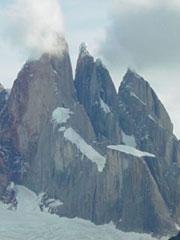 El cerro Torre desde la Laguna Torre