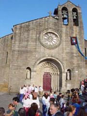 La iglesia de Santa María de Azoque