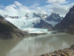 La Laguna Torre y el glaciar