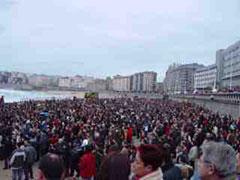 El Orzán se llenó, unas 25.000 personas