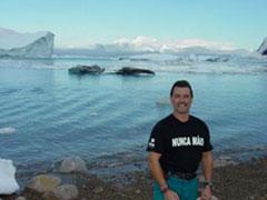 Un recuerdo desde la Antártida para Nunca Mais