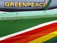 Los colores de Greenpeace, una esperanza para Galicia