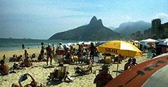 La hermosa playa de Ipanema