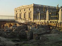 Palacio real y restos arqueológicos árabes