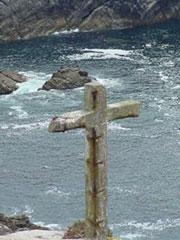 El Buraco do Inferno en la isla de Ons, Parque nacional Islas Atlánticas, una de las más afectadas. Nunca un nombre fue tan apropiado