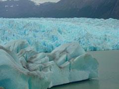 El glaciar Grey desde dentro