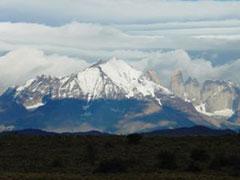 Así nos recibió Torres del Paine.