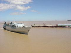 El cruce del Río de la Plata de Buenos Aires a Colonia