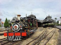 Tren y estación de Saõ João