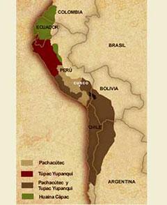 Expansión Imperio Inca.