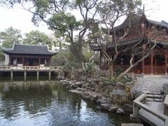 Entrada a los jardines Yuyuan