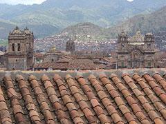 Los tejados de Cusco
