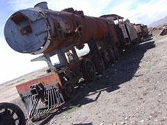 Cementerio trenes