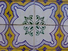 Azulejo típico de Sao Luis