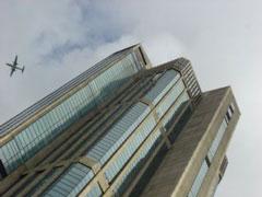 En Caracas también hay 2 Torres Gemelas y los aviones pasan cerca