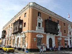 Edificio Plaza de Armas de Trujillo