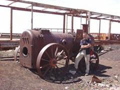 Locomotora abandonada